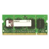 Kingston ValueRAM 2 GB 800MHz PC2-6400 DDR2 CL5 SODIMM Notebook Memory (KVR800D2S5/2G)