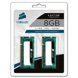 Corsair Memory VS8GSDSKIT800D2 8 GB 2 X 4 GB PC2-6400 800Mhz 200-pin DDR2 Laptop Memory Kit