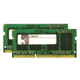 Kingston Apple 8GB Kit (2x4GB Modules) 1066MHz DDR3 SODIMM iMac and Macbook Memory (KTA-MB1066K2/8G)