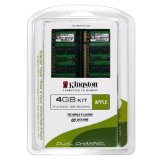 Kingston Apple 4GB Kit (2x2GB Modules) 667MHz DDR2 SoDimm iMac and Macbook Memory (KTA-MB667K2/4GR)