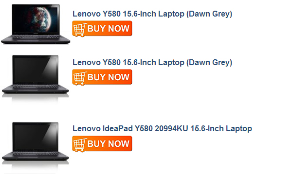 Lenovo IdeaPad Y580 20994KU 15.6-Inch Laptop (Dawn Gray)