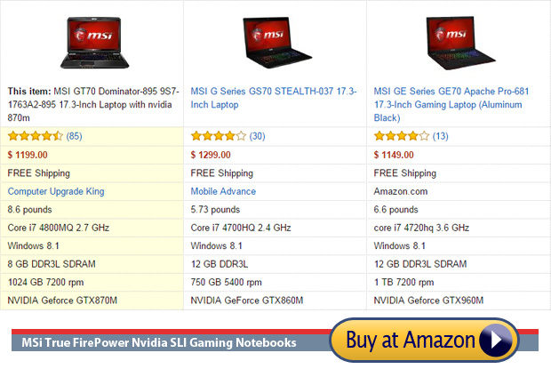 msi the best brand for performance gaming laptops